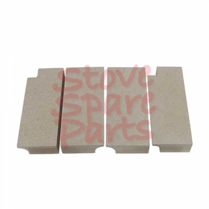 Olymberyl Gabriel Side Fire Brick Set of 4 HF332-21